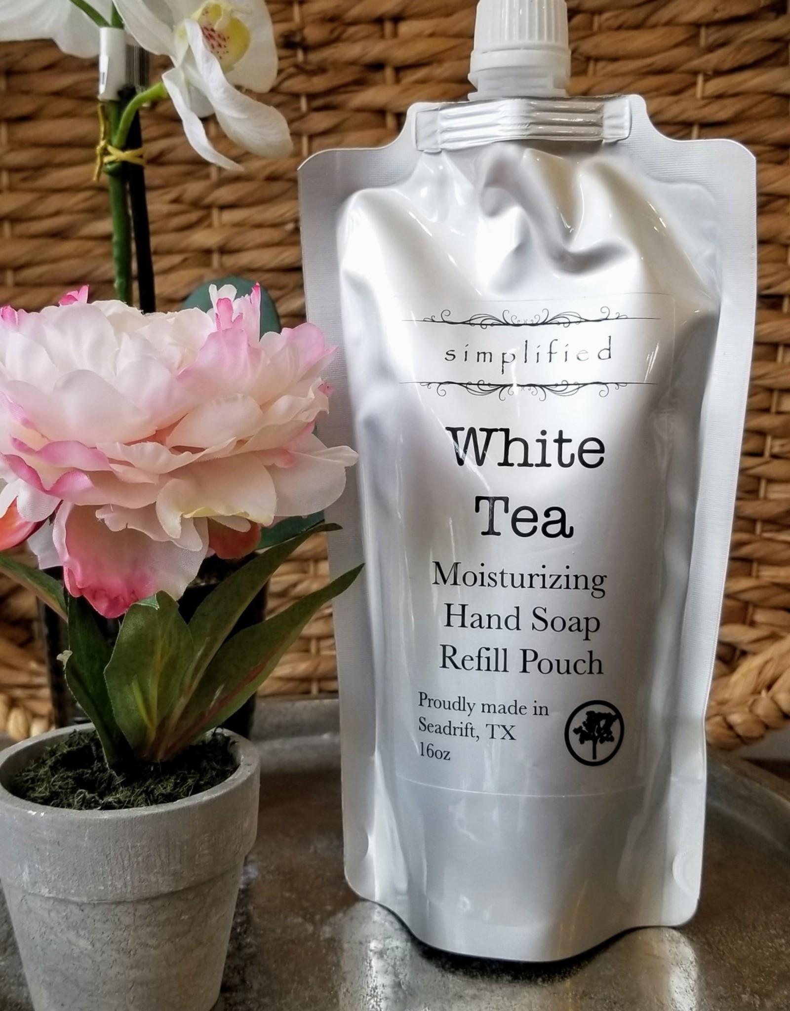 Simplified Soap Hand Soap Refill - White Tea