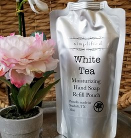 Simplified Soap Hand Soap Refill - White Tea
