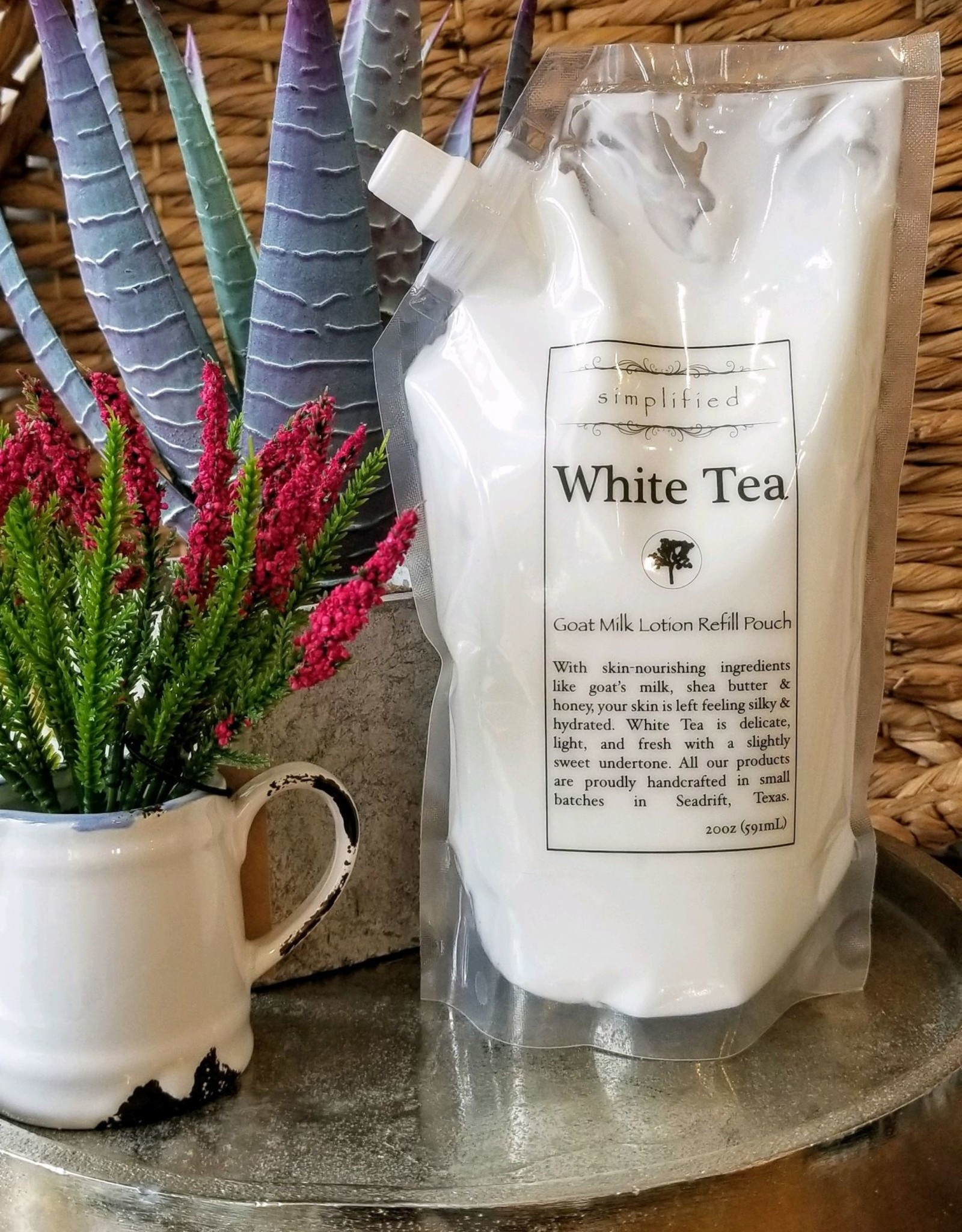 Simplified Soap Lotion Refill - White Tea