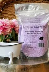 Simplified Soap Bath Salt Bag - Lemon & Lavender