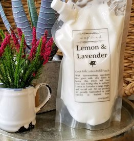 Simplified Soap Lotion Refill - Lemon & Lavender