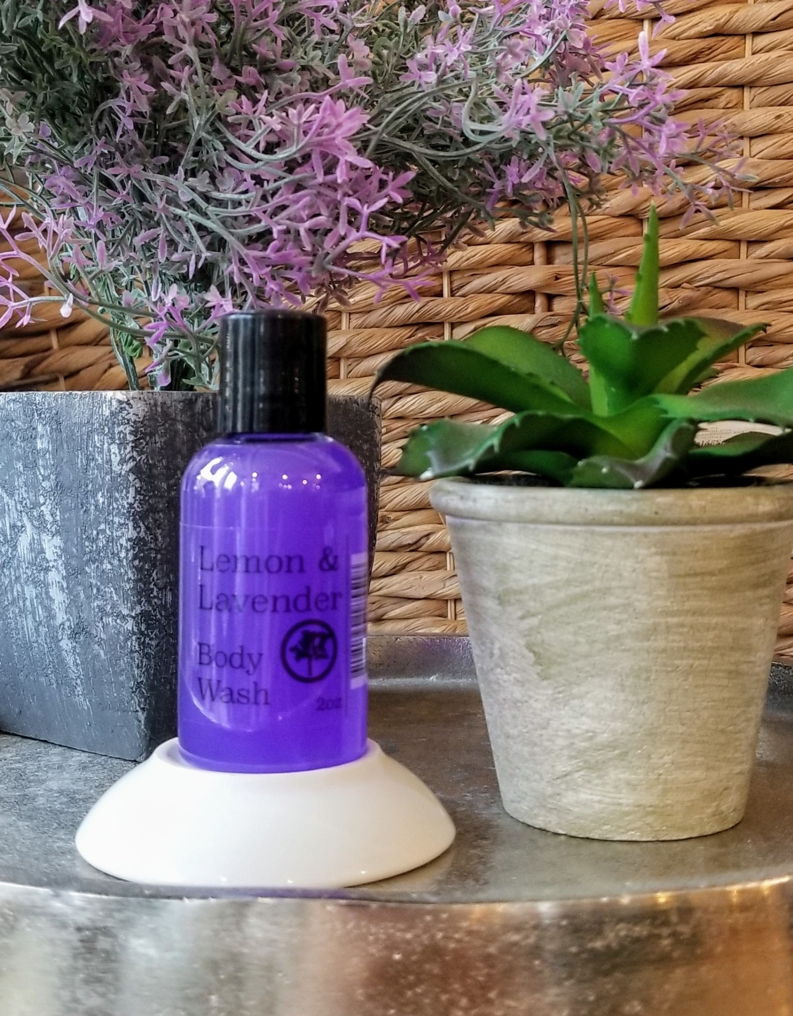 Body Wash 2oz- Lemon & Lavender