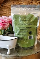 Simplified Soap Bath Salt bag - Coconut Lime Verbena