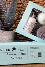5 Piece Sampler - Coconut Lime Verbena