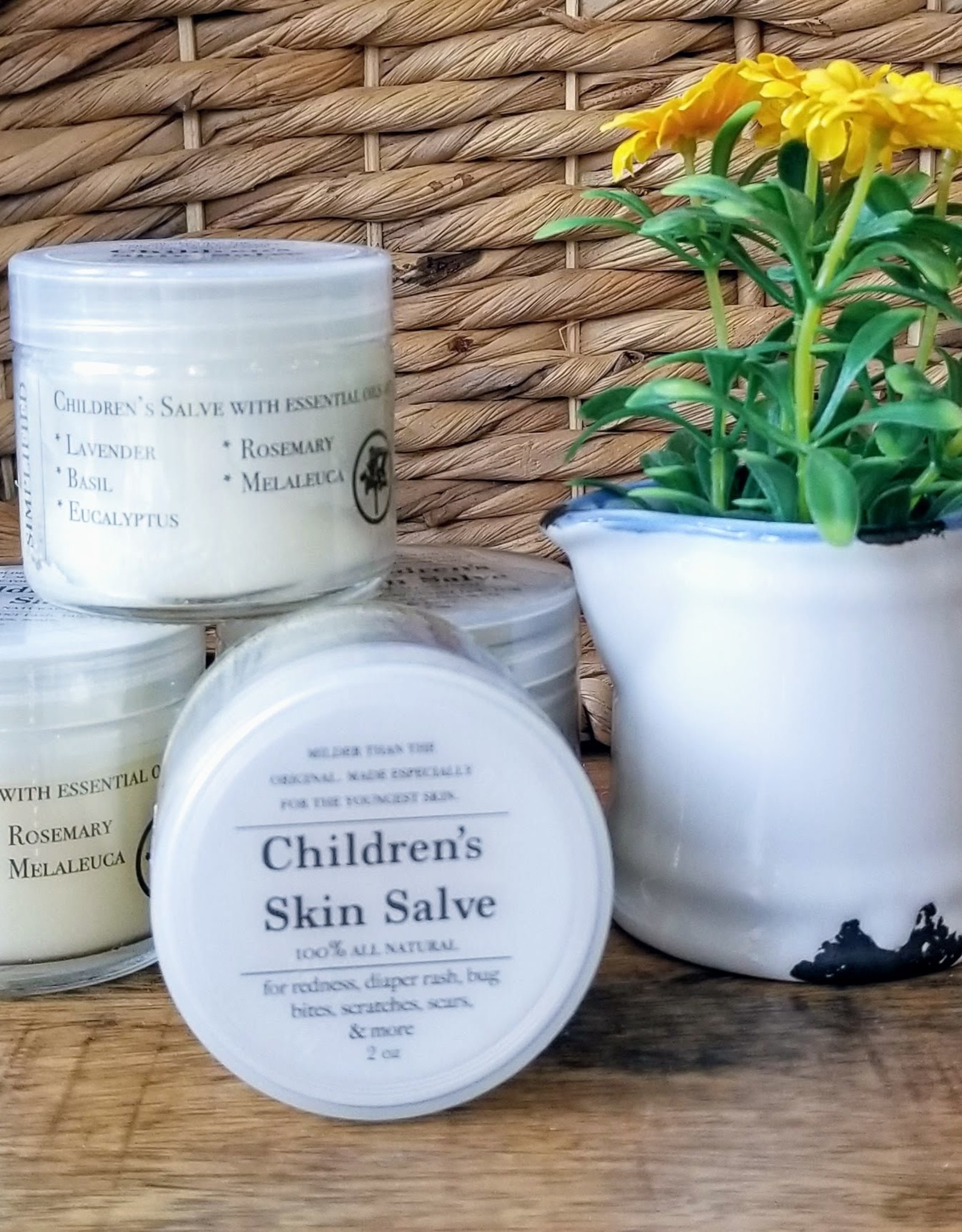 Simplified Soap Children's Skin Salve
