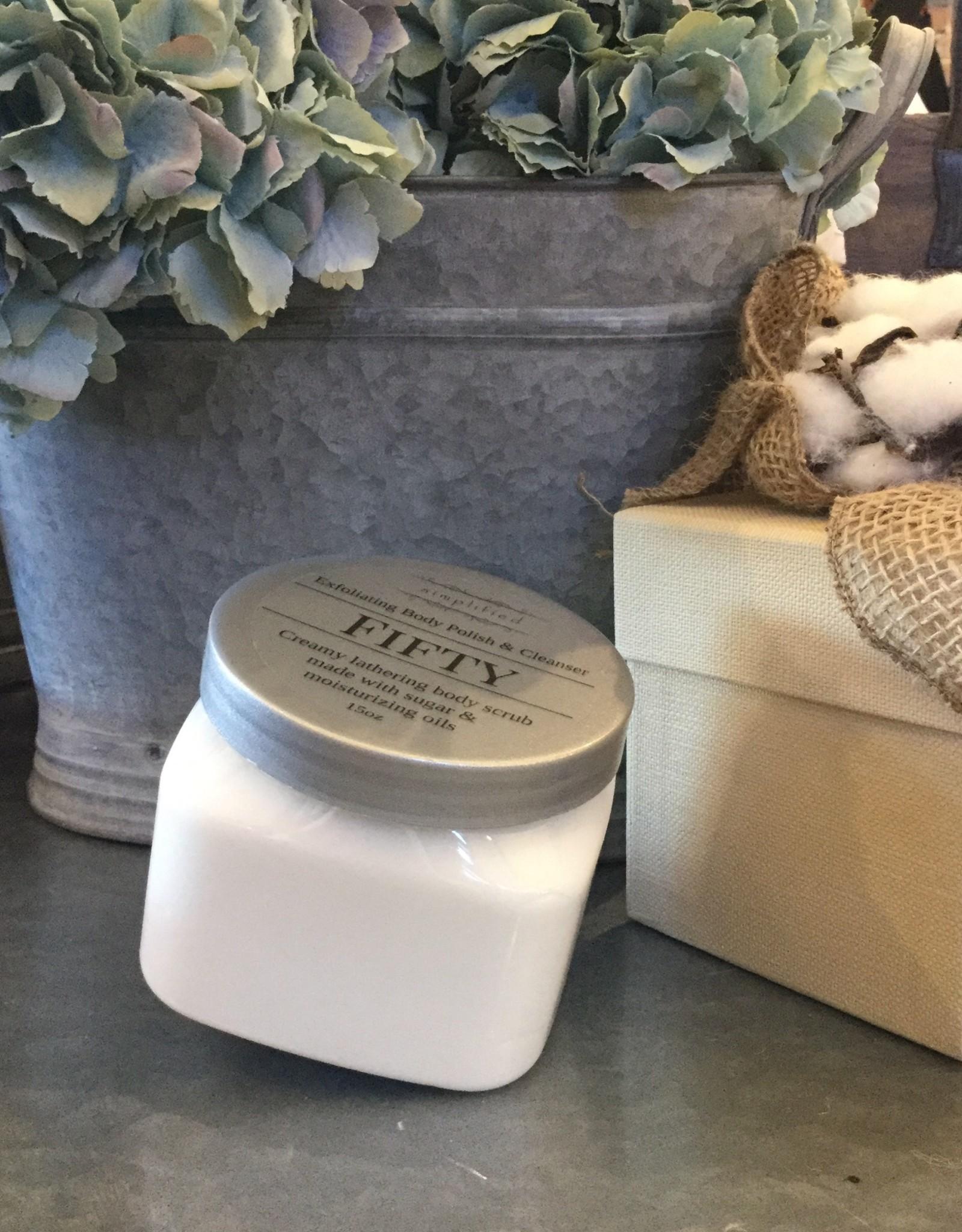 Simplified Soap 15 oz Body Polish - Fifty