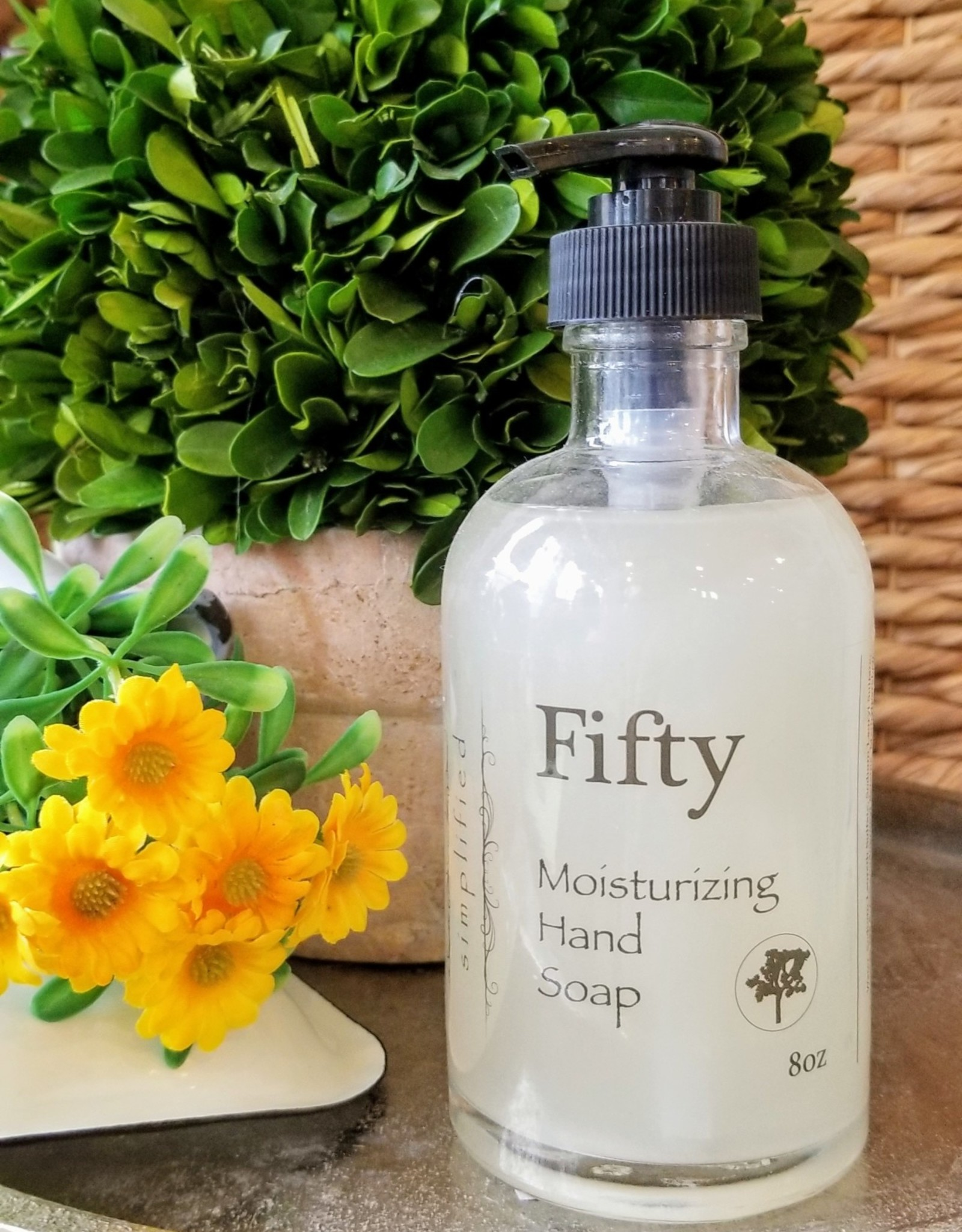 Hand Soap 8oz - Fifty