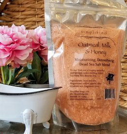Simplified Soap Bath Salt Bag - Oatmeal, Milk, & Honey