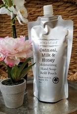 Hand Soap Refill - Oatmeal, Milk, & Honey