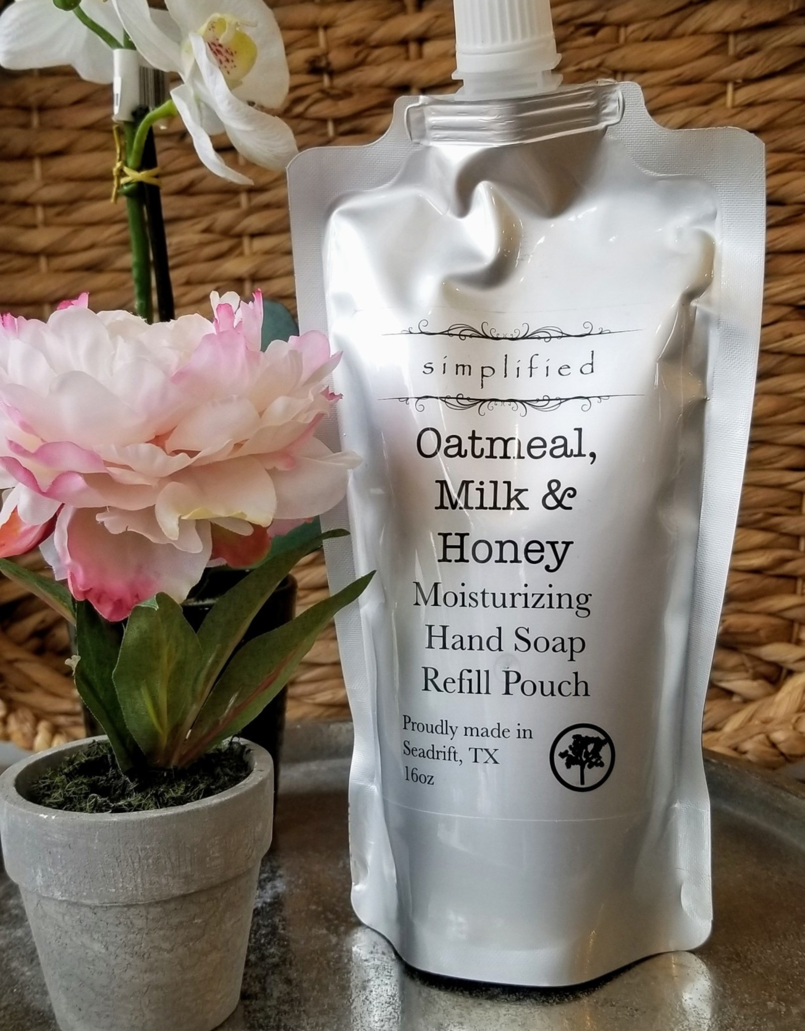 Simplified Soap Hand Soap Refill - Oatmeal, Milk, & Honey