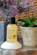 Body Wash  2oz - Oatmeal, Milk & Honey