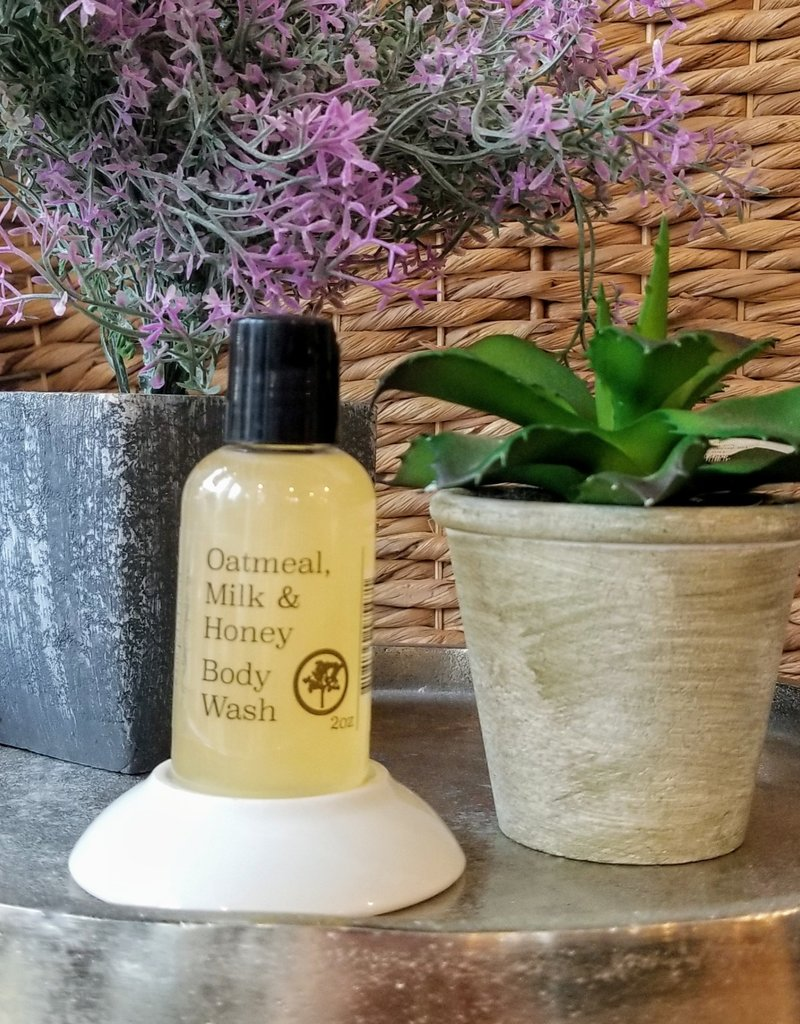 Simplified Soap 2oz Body Wash - Oatmeal, Milk & Honey