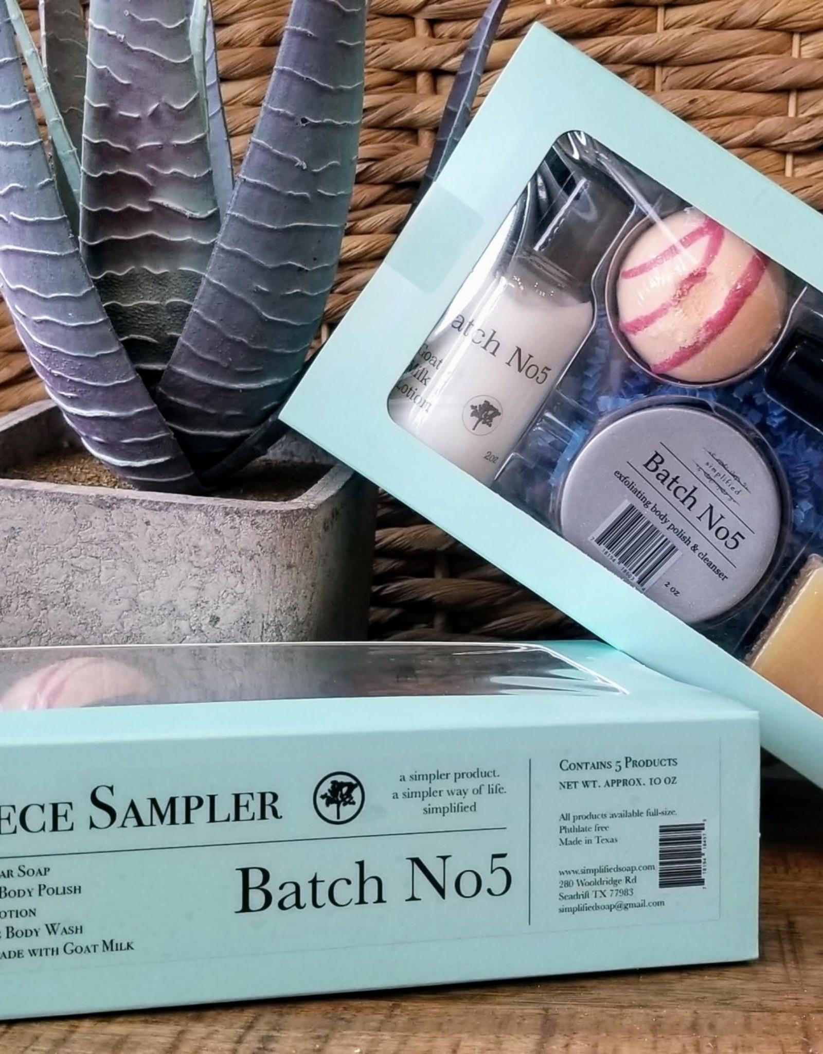 5 Piece Sampler- Batch No5