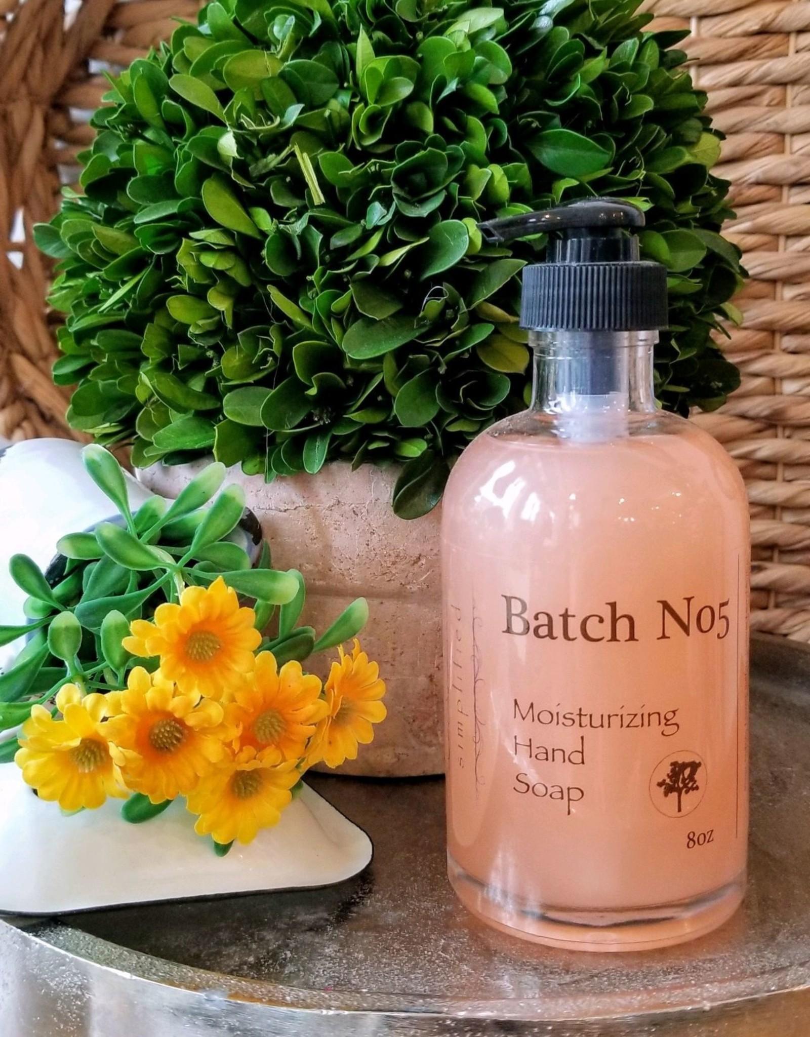 Simplified Soap Hand Soap 8oz - Batch No5