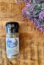 Basil & Garlic Sea Salt Grinder