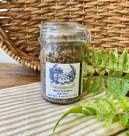 Basil & Garlic Sea Salt Jar