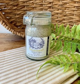 French Grey Sea Salt Jar