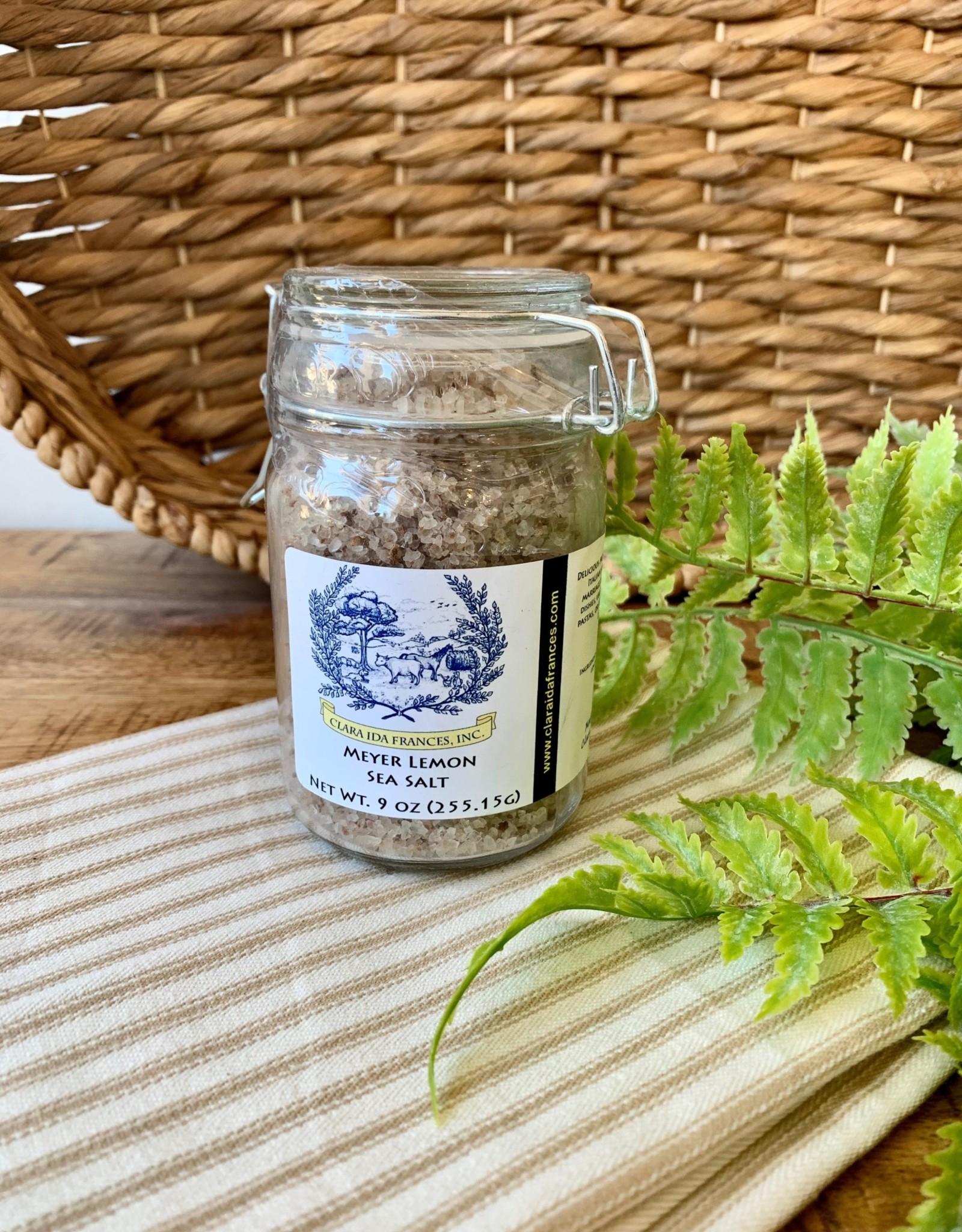 Meyer Lemon Sea Salt Jar
