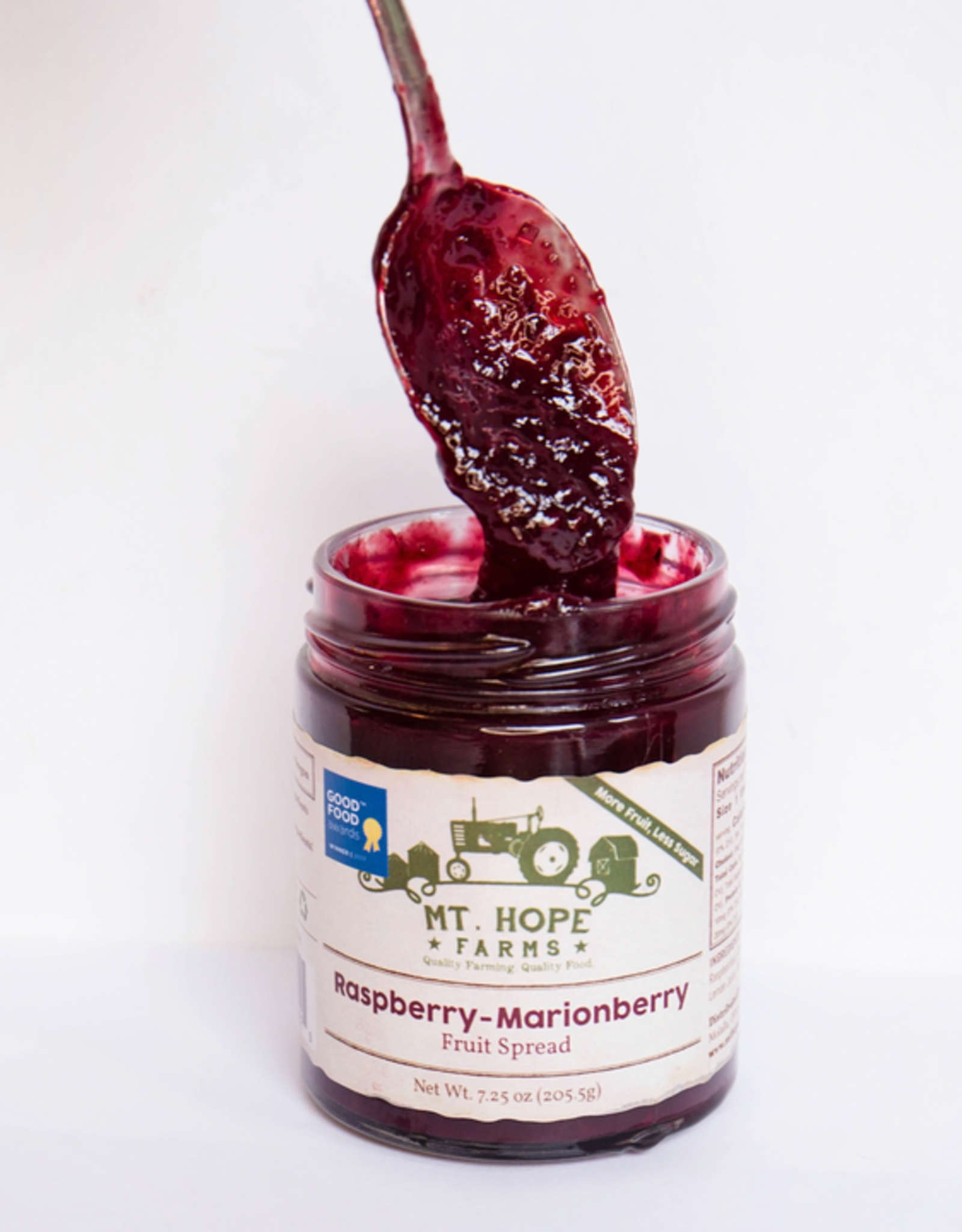 Raspberry-Marionberry Fruit Spread
