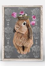 Greenbox Art Bubblegum Bunny Mini Framed Canvas