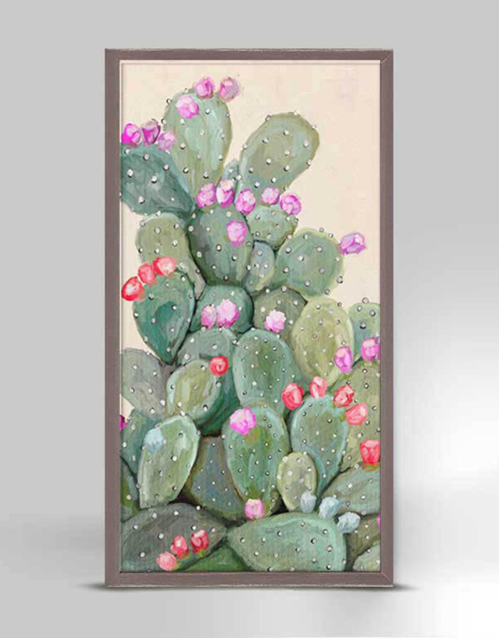 Greenbox Art Cactus 1 Mini Framed Canvas