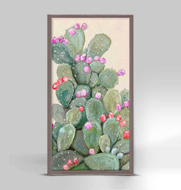 Greenbox Art Cactus 1 Mini Framed Canvas