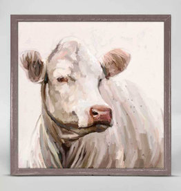 Greenbox Art Greenbox Cow Life 1 Mini Framed Canvas