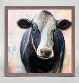 Greenbox Art Greenbox Cow Life 2 Mini Framed Canvas