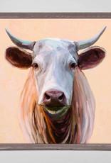 Greenbox Art Cow Life 3 Mini Framed Canvas