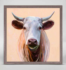 Greenbox Art Greenbox Cow Life 3 Mini Framed Canvas