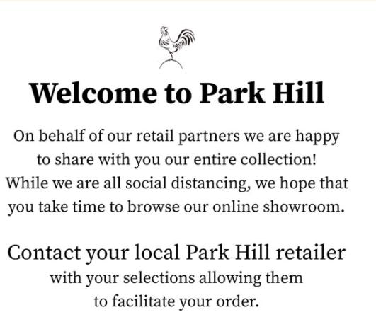 Parkhill Order Details