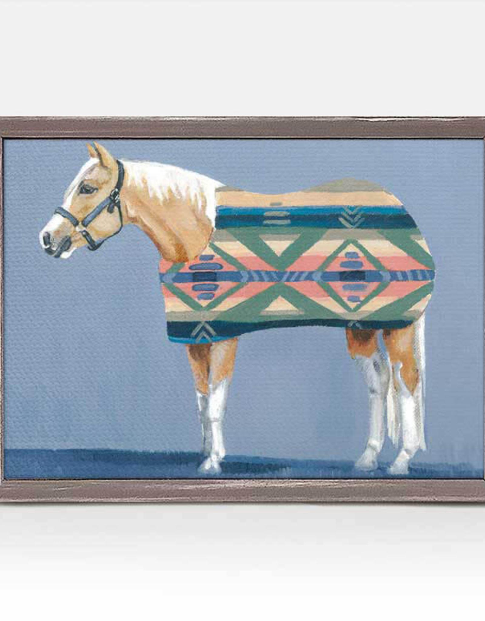 Greenbox Art Palomino Mini Framed Canvas