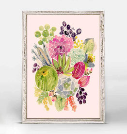 Greenbox Art Succulent Bouquet Mini Framed Canvas