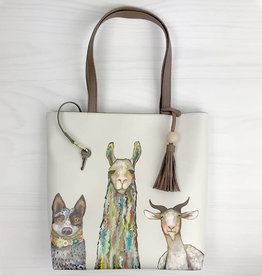 Greenbox Art Farm Friends Tote Bag