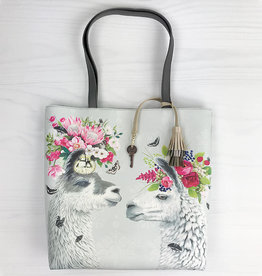 Greenbox Art Lovely Llamas Tote Bag