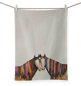 Greenbox Art Manes of Color Tea Towel