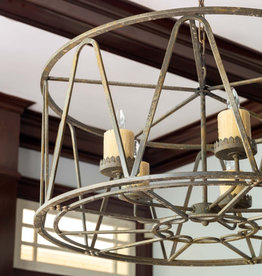 Park Hill Collection Drum Chandelier