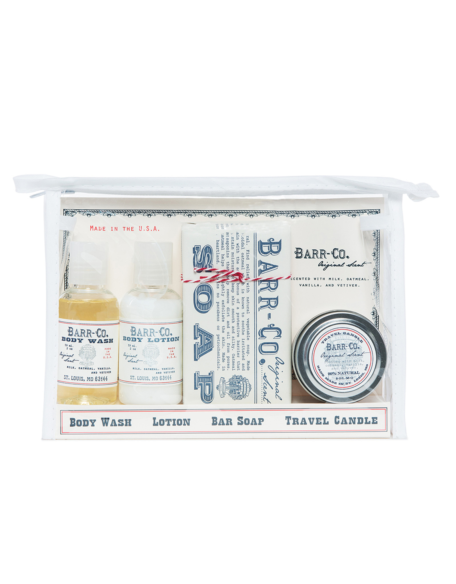 Barr-Co Barr-Co Original Scent 4pc Travel Kit