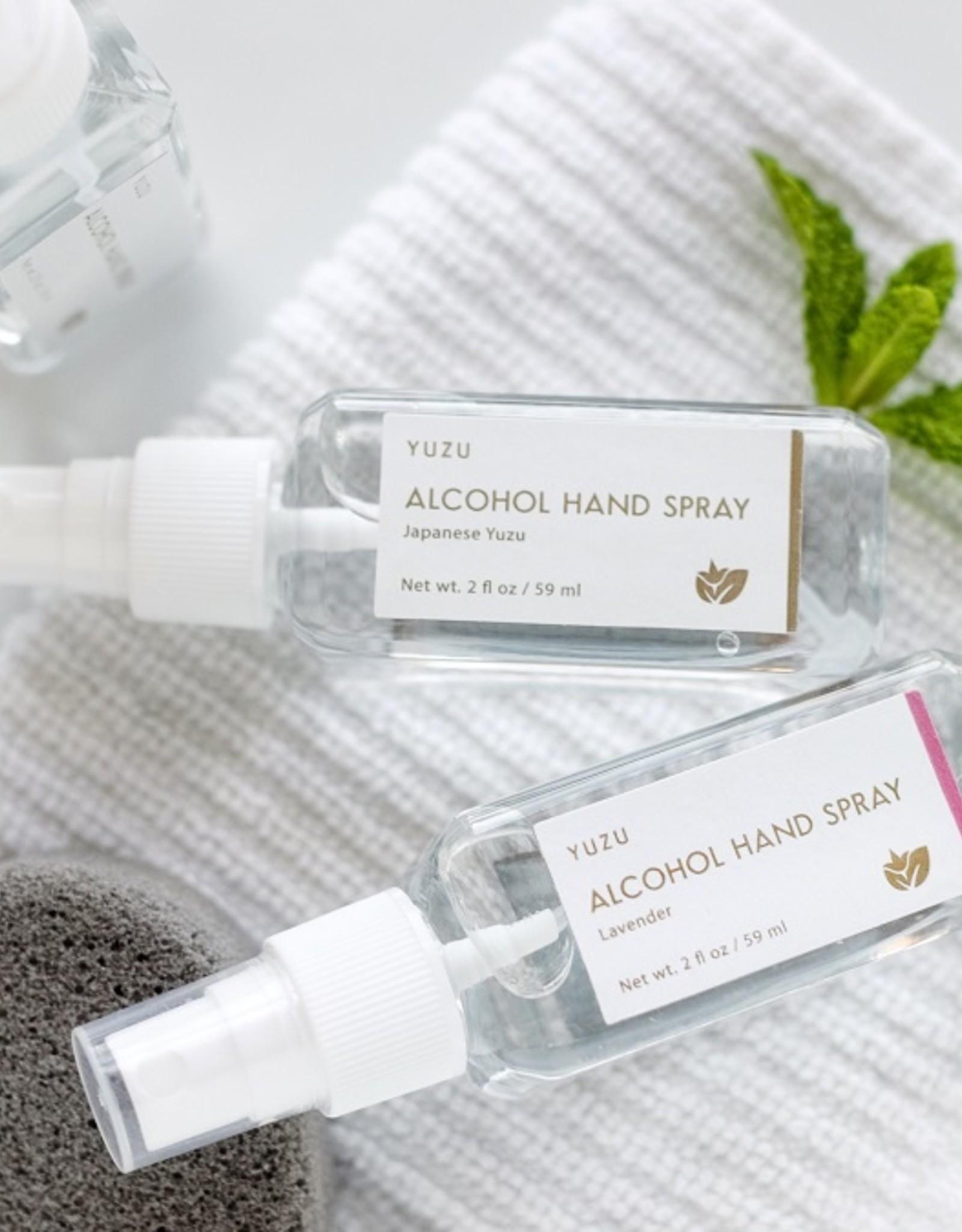Yuzu Soap Japanese Alcohol Hand Spray (2oz)