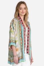 Johnny Was Collection Claret Reversible Kimono