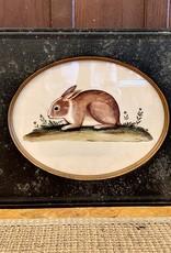 Park Hill Collection Park Hill Vintage Rabbit Print A