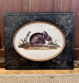 Park Hill Collection Park Hill Vintage Rabbit Print B