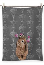 Greenbox Art Bubblegum Bunny Tea Towel