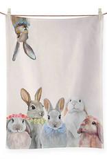 Greenbox Art Greenbox Bunny Bunch Tea Towel