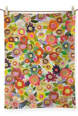 Greenbox Art Blooms Tea Towel