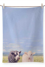 Greenbox Art Ferdinand & Angel Tea Towel