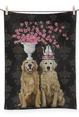Greenbox Art Golden Couple Tea Towel