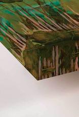 "Greenbox Art Wreath Barn Wall Art 10"" x10"""