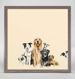 Greenbox Art Greenbox Best Friends Puppy Pack Mini Canvas 6x6