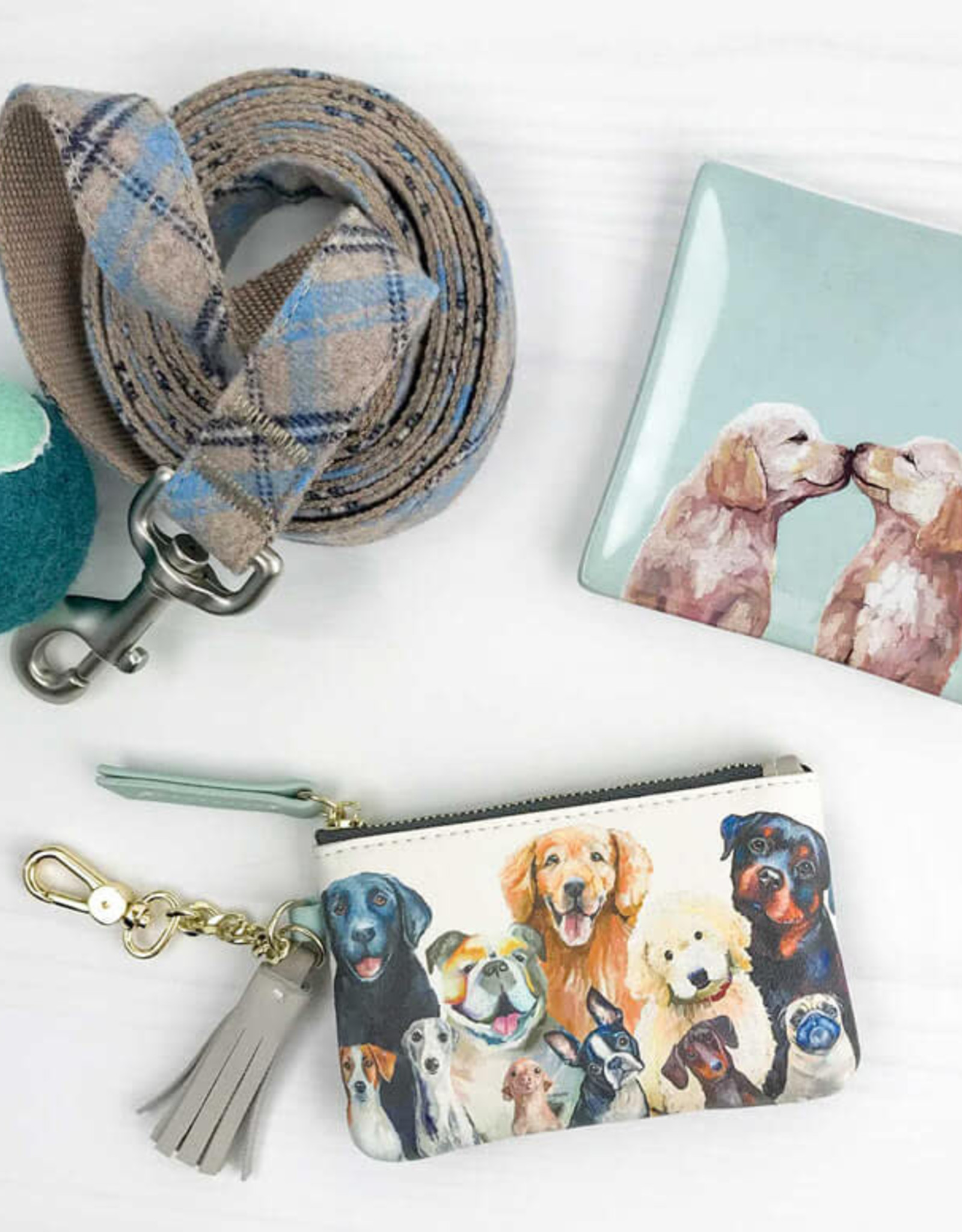 Greenbox Art Greenbox Dog Bunch Key Pouch